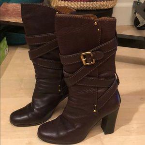 Chloe chocolate brown boots